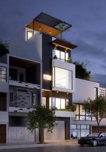 5 yếu tố lớn để tạo nên sự hiện đại trong phần thiết kế nhà phố đẹp 2018