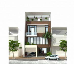 Các mẫu nhà phố mặt tiền rộng khoảng 8m bởi được đánh giá cao về mảng thiết kế